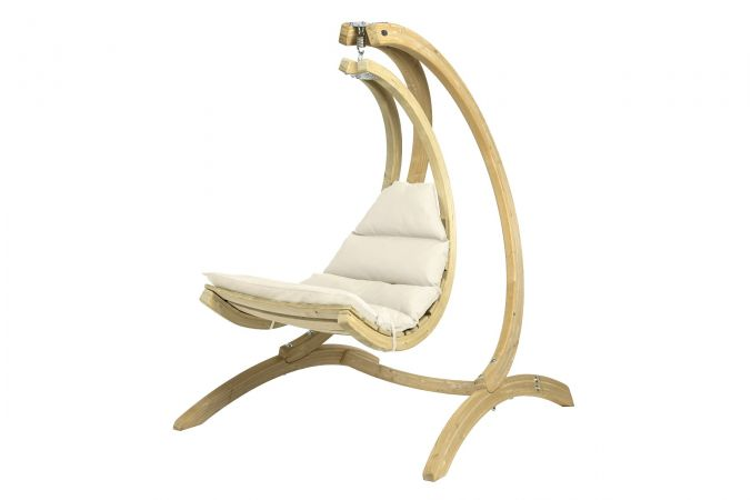 Hamac Chaise 1 Personne 'Swing Chair' Creme