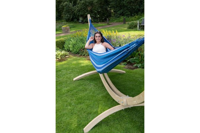 Hamac Avec Support 2 Personnes 'Wood & Chill' Calm
