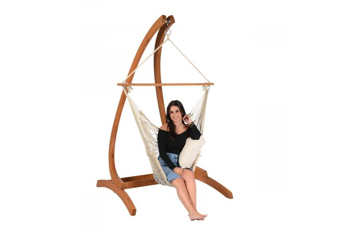 Hamac Chaise 1 Personne 'Rope' Natura