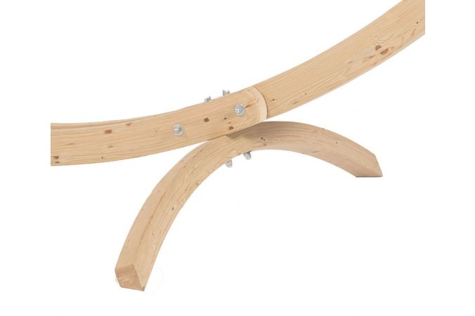 Hamac Avec Support 1 Personne 'Wood & Natural' Pink