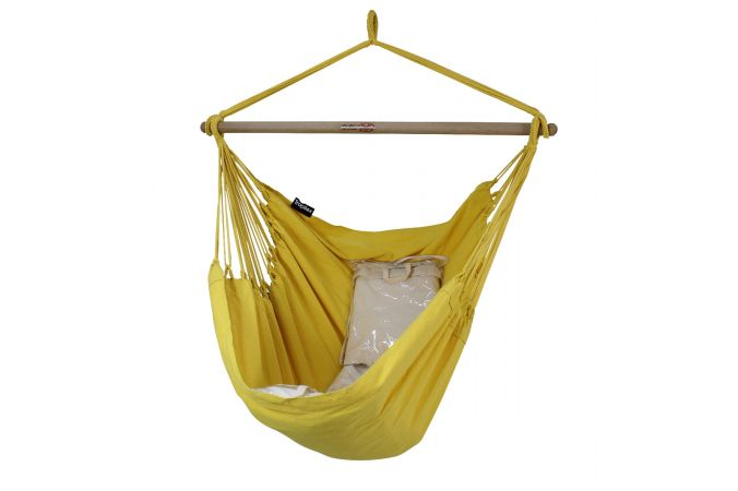 Hamac Chaise 1 Personne 'Organic' Yellow