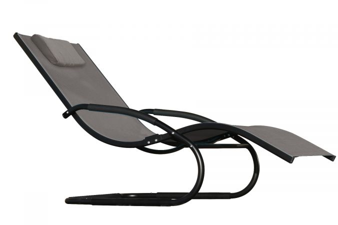 Fauteuil 'Wave' Grey