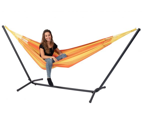 Hamac Avec Support 1 Personne 'Easy & Dream' Orange