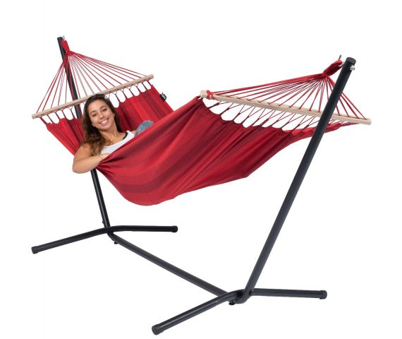 Hamac Avec Support 1 Personne 'Easy & Relax' Red