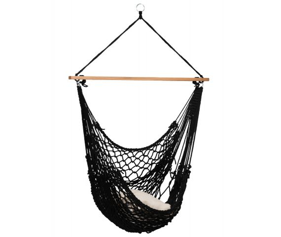 Hamac Chaise 1 Personne 'Rope' Black