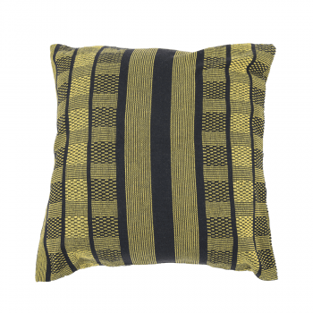 Coussin 'Black Edition' Gold