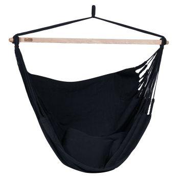 Hamac Chaise 2 Personnes 'Luxe' Black
