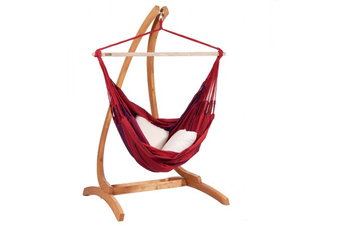 Hamac Chaise 2 Personnes 'Refresh' Bordeaux