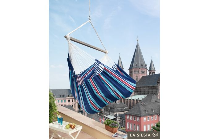 Hamac Chaise 2 Personnes 'Currambera' Blueberry Lounge