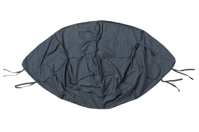 Hamac Chaise 1 Personne 'Globo' Weatherproof Anthracite