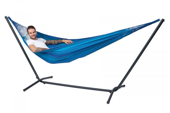 Hamac Avec Support 1 Personne 'Easy & Dream' Blue