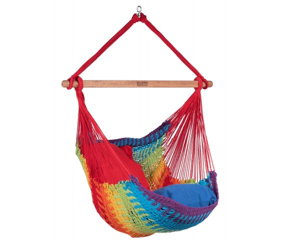 Hamac Chaise 1 Personne 'Mexico' Rainbow