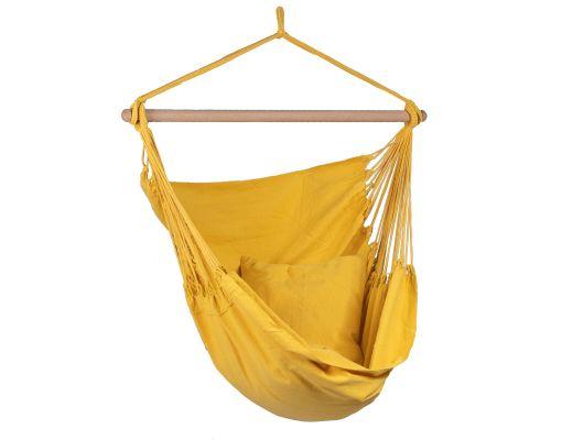 Hamac Chaise 1 Personne 'Organic' Yellow